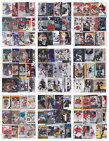 NHL Hockey Goalie Card Lots - U Pick From List - Inserts RCs Parallels See Scan
