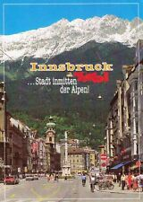 Austria Postcard Innsbruck Beautiful Town in the Middle of the Alps 1970s