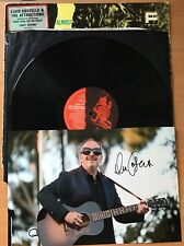 "ELVIS COSTELLO,ALMOST BLUE,VINTAGE 1981 12"" LP33,+ GENUINE HAND SIGNED PHOTO,COA"
