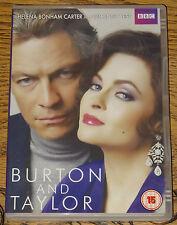 BURTON AND & TAYLOR 2013 BBC HELENA BONHAM CARTER DOMINIC WEST UK R2 & 4 DVD