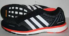 Adidas Boost Adizero Adios BA7934 Men's US 9 UK 8.5 Black/White/Orange