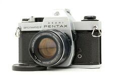 【EXC++++】 Pentax Spotmatic F SPF 35mm FIlm SLR + Super Takumar 55mm F2 M42 JAPAN