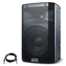 "Alto TX210 10"" 300W Powered Active PA Speaker or Stage Monitor DJ Band +XLR Lead"