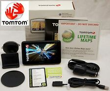 NEW in Box TomTom GO 2435TM Car GPS System USA/Canada LIFETIME MAPS & TRAFFIC