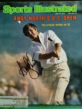 Andy North Signed Sports illustrated COA