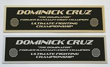 Dominick Cruz UFC nameplate for signed mma gloves photo or case
