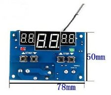 DC 12V 10A digital display thermostat Temperature controller CHIP 2 A