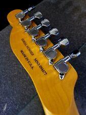 Laserjet Waterslide Guitar Headstock Decals Serial Number USA Japan Korea Mexico
