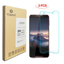 Ytaland 2Pcs Tempered Glass Screen Protector Film Guard For Cubot Quest