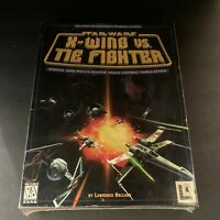 Star Wars - X-Wing Vs Tie Fighter PC CDROM With Box Manual Sealed