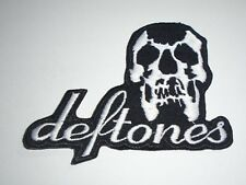 DEFTONES IRON ON EMBROIDERED PATCH