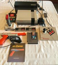Nintendo NES 52 Games Advantage 2 Controllers Joystick Storage Case Huge Lot Gun