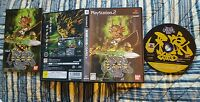 GARO Golden Knight Ogon Kishi Garo PS2 Japan. COMPLETE! SHIPS from USA! RARE FUN