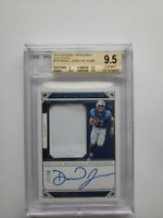 Daniel Jones 2019 National Treasures Collegiate RPA #11/99 BGS 9.5/10 Autograph