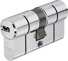 Cylindre, barillet haute sûreté ABUS D6PS pré-cassé + 5 clés 30*30 s'entrouvrant
