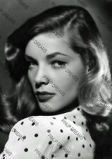 Lauren Bacall Vintage Wall Art Print of this beautiful Actress A4 poster print