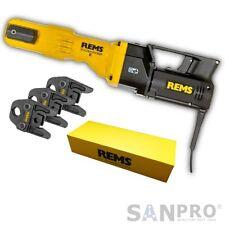 REMS Power Press E Radialpresse / Pressmaschine  + 3x Pressbacken / Presszangen