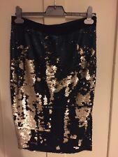 Folkster Sequin Midi Skirt UK Large