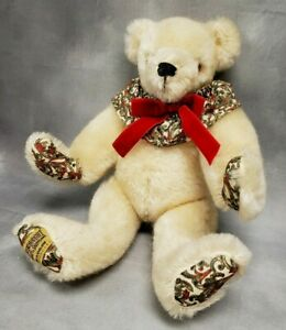 """Merrythought Limited Edition 12"""" Teddy Bear by Oliver Holmes No. 271 of 1000"""