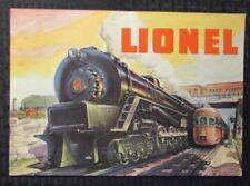 1948 LIONEL TRAINS & Accessories Catalog 36pgs FN+ 6.5 Railroad