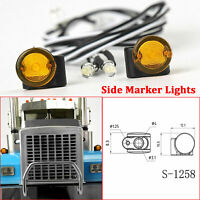 LESU Side Marker Lights for 1/14 TAMIYA Tractor Truck Trailer RC Car Model DIY