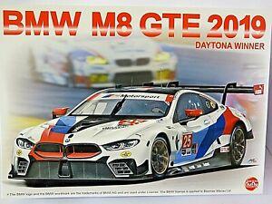 NuNu Model Kits 1/24th Scale BMW M8 GTE 2019 No.25 Daytona Winner