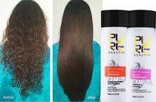 Pure Brazilian Keratin Hair Straightening Treatment 100 ml Blow Dry+Shampoo Kit