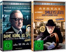 Dame König As Spion + Smileys Leute / Beide Kultserien auf 4 DVDs Pidax Neu