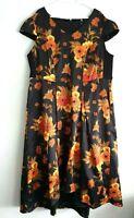 TS Taking Shape Floral Sleeveless Formal Midi Dress Size 20