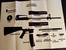 Disassembly Layout Chart For M16A2 January 1996 GTA 07-01-039