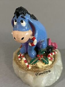 RON LEE Signed Disney Winnie the Pooh Eeyore at Christmas LE #887/1500