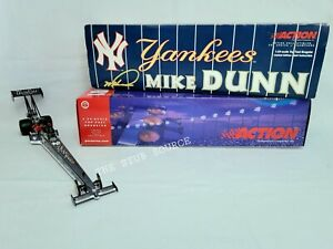New York Yankees Mike Dunn NHRA 2000 Top Fuel Dragster 1:24 Diecast Limited Ed