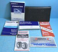02 2002 Subaru Forester owners manual