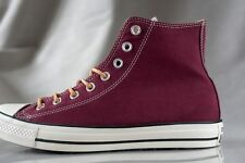 CONVERSE ALL STAR CHUCK TYLOR PEACHED CANVAS HI shoes for men, NEW, US size