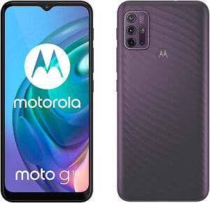"New Motorola Moto G10 Aurora Grey 6.5"" 64GB Dual SIM Android 11 Unlocked Sim Fre"