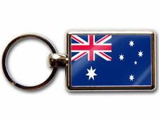 Chrome Rectangle Flags & Political Collectable Keyrings