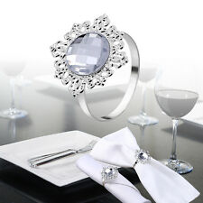 60X Serviettenringe Serviettenhalter Ringe Bankett Partei Dekoration Hochzeit DE