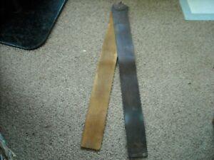 vtg. Elk Shell  straight razor strap