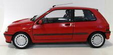 Norev 1/18 escala Diecast - 21JUN13 Renault Clio 16S fase 1 Rojo