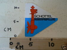 STICKER,DECAL SCHOTTEL RUDDERPROPELLERS NOT 100 % OK BOAT SCHIP