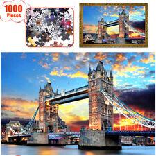 1000 Pieces Children Adult Kids Puzzles Educational Toy Decoration Jigsaw Bridge