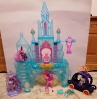 My Little Pony Crystal Empire Castle Pony Bundle Accessories & Box
