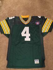 Brett Favre Starter Proline Green Bay Packers Game Issue Jersey 75th Anniv
