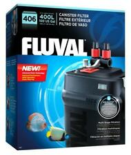 Fluval 406 Canister Filter 400L Fish Aquarium Flow Rate 1450 L/h Fast Delivery