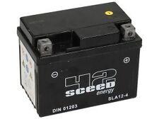 Batterie Au Gel Pret à l'emploi SLA 12-4 12V 4Ah  Scooter chinois 50 cc 4T