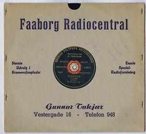 """78 rpm M. MICHAILOW Dietrich Abendlied / Frühlingsrauschen Danish shellac 10"""""""