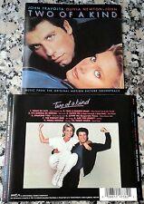 TWO OF A KIND Soundtrack RARE CD John Travolta Olivia Newton-John Twist Of Fate
