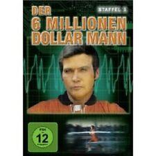 """DER 6 MILLIONEN DOLLAR MANN """"STAFFEL 1"""" 4 DVD NEU"""