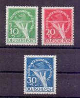 Berlin 1949 - Währungsgeschädigte MiNr 68/70 postfrisch - Michel 350,00 € (732)