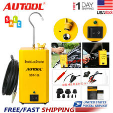 Autool SDT106 Smoke Machine Automotive Leak Detector Pipe EVAP Leakage Detector